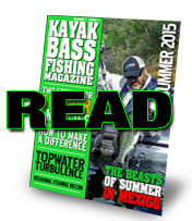 Kayak Bass Fishing Magazine
