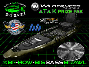 KBF HOW Big Bass Brawl ATAK Prize Pak